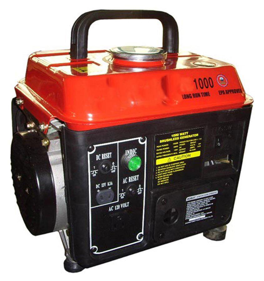 1 2 stroke portable gasoline generator  ltp950s