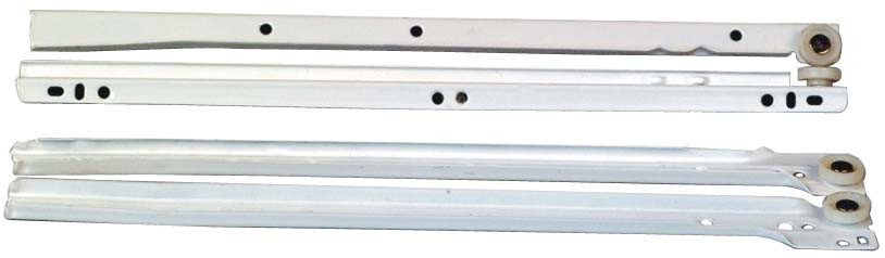 Competitive Spraying Plastics Iron Drawer Slide (SW-061)