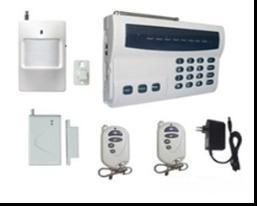 Home Security Intelligent GSM Alarm System (EV-T-5A)