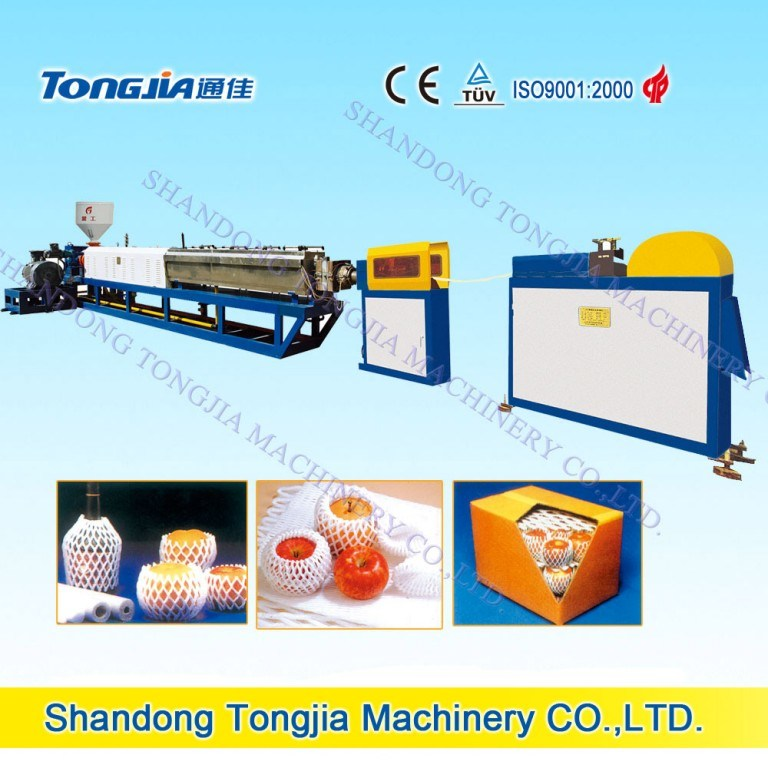 EPE Foamed Foaming Fruit Net Machine