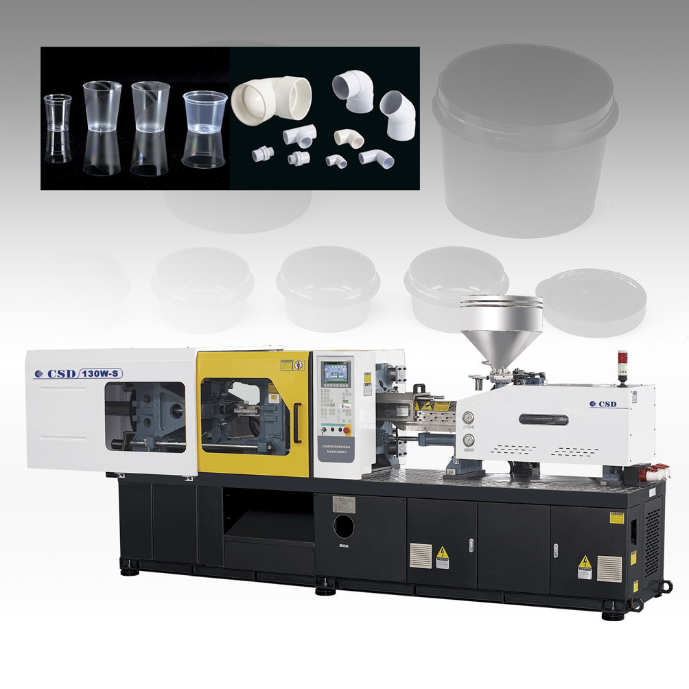 CE Approved Injection Moulding Machine (CSD-130W-S)