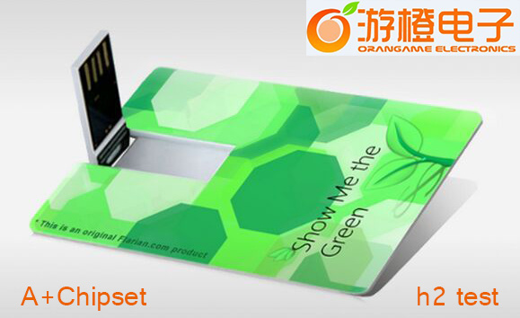 Full Color Printing Plastic Credit Card USB Flash Drive (OM-P508)