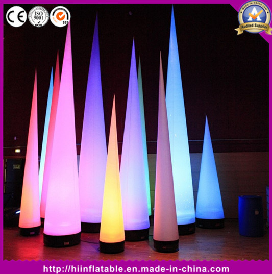 Event Advertising Show Inflatable Cones for Decoration