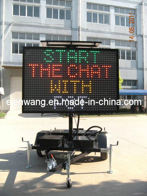 Vms LED Sign Trailer Four Color (GW-VM400C4)