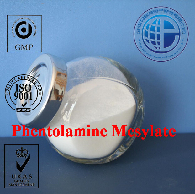 GMP Pharmaceutical Chemicals for Erectile Dysfunction CAS 65-28-1 Phentolamine Mesylate