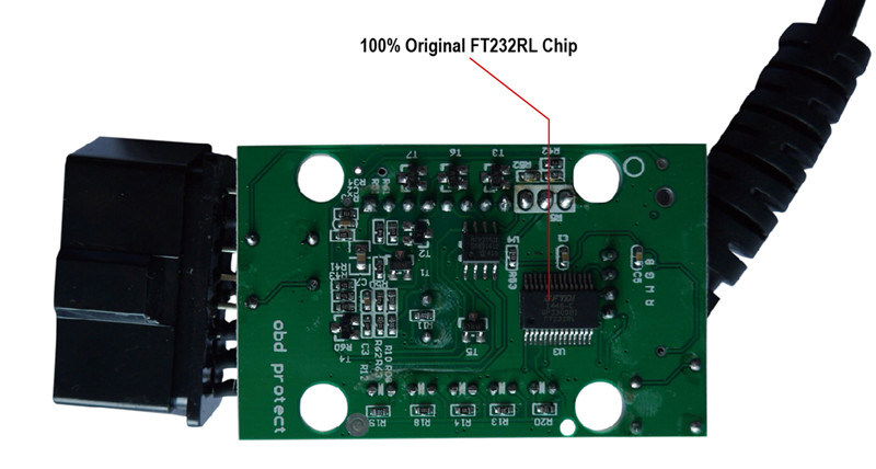 Elm327 USB Fdti FT232rl Original Chip Pic18f25k80