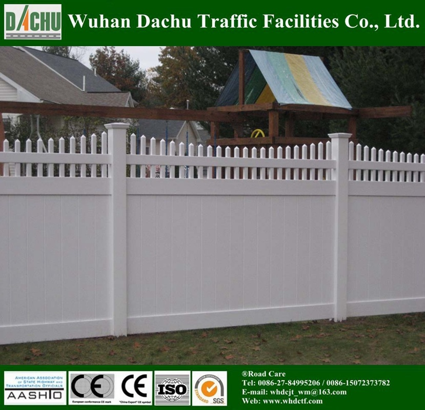 Backyard Private Vinyl Fencing