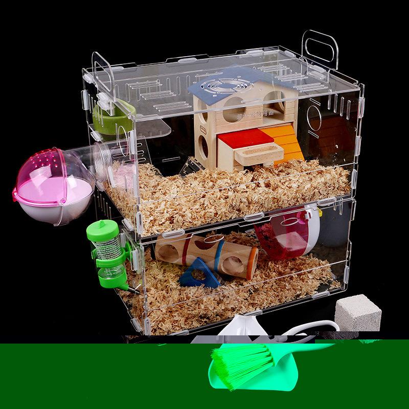 Customized Acrylic Pet House Acrylic Reptile Box Hamster Cage