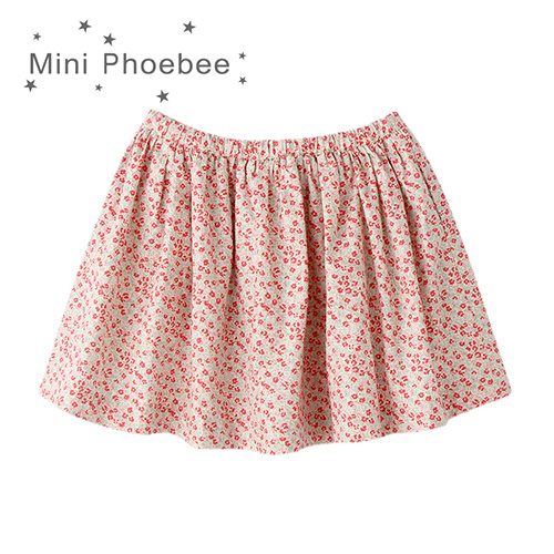 Phoebee Fashion Wholesale 100% Cotton Children Apparel Girl′s Skirts for Summer