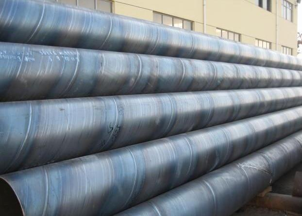 Welded Steel Pipes : Spiral welded pipe ssaw china