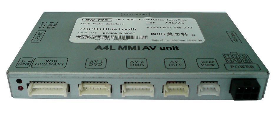 Audi Mmi 3g Car Audio System Sw 773 China Audi Mmi 3g