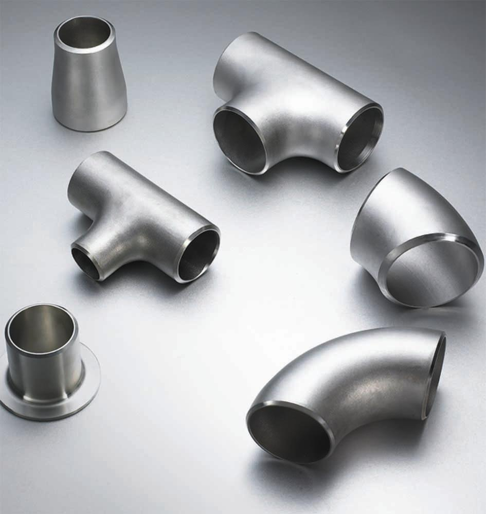 China stainless steel butt welded pipe fittings elbow