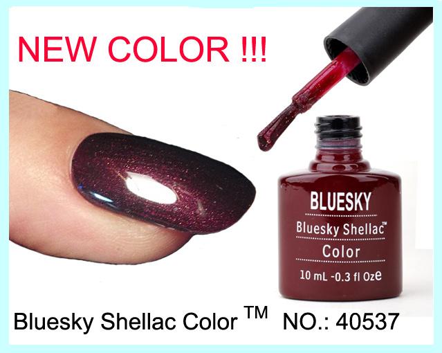Bluesky gel polish color
