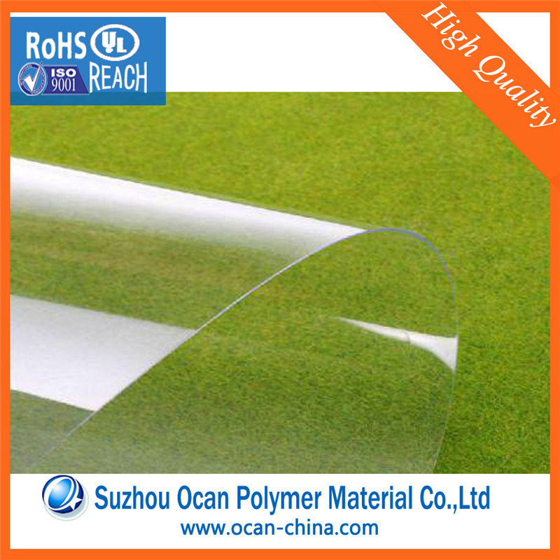 0.37mm Rigid Transparent Plastic Pet Film Roll for Printing