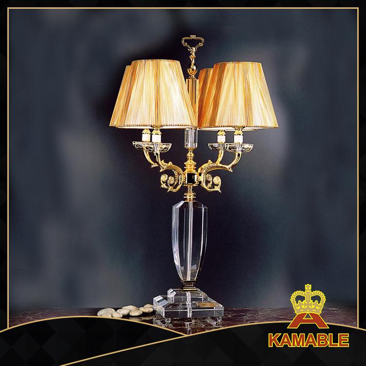 Wedding Candelabra Crystal Table Lamps (605)