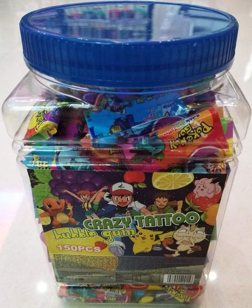 2.6g Bubble Gum Masha / Taxi / Pokemon