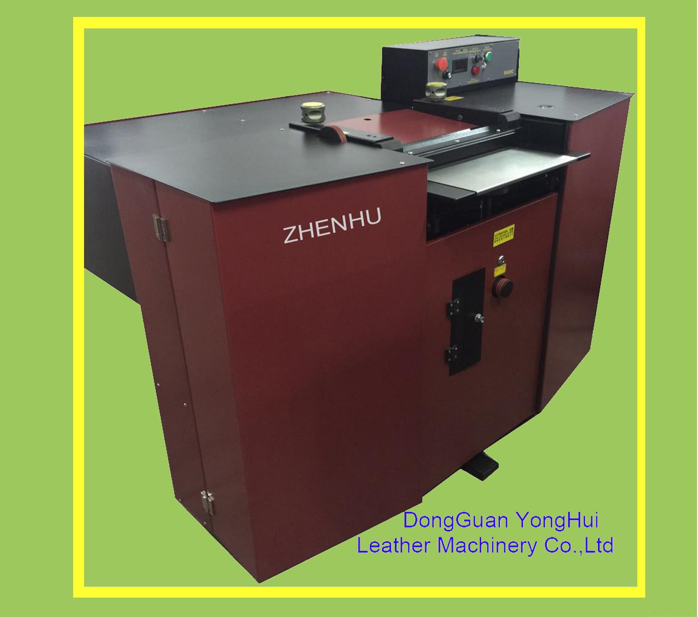Zhenhu Brand Band Knife Leather Spliting Shoe Making Machine (S420C)