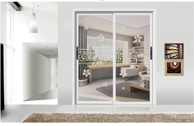 Interior or Outside Glass Door with Beautiful Design