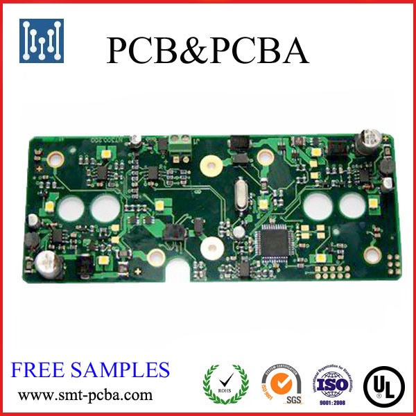 2 Layer Electronic Customized OEM PCB Assembly with UL Certificate