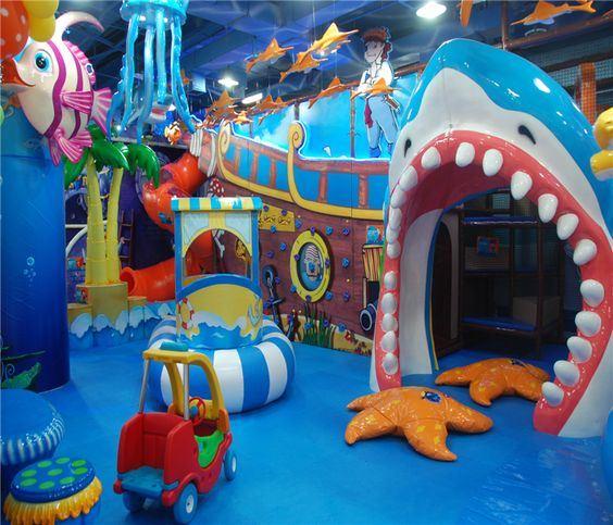 2016 Unique Design of Indoor Playground Equipment for Kids