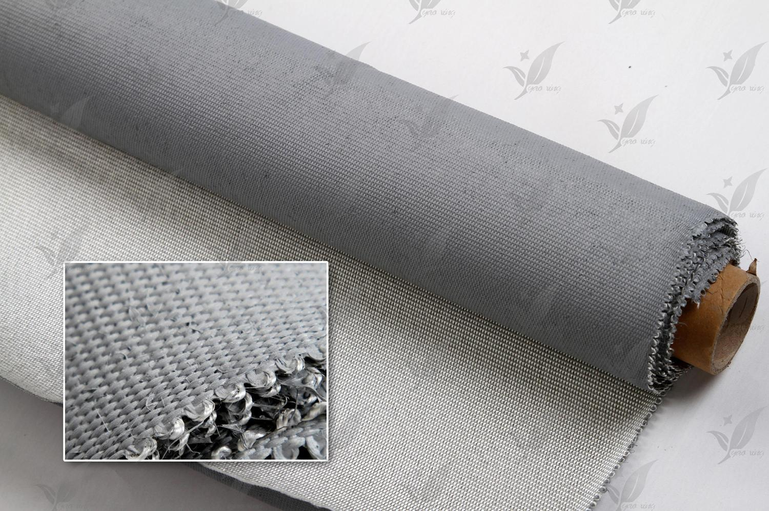 Fireproof Silicone Coated Fabric of Glass Fiber