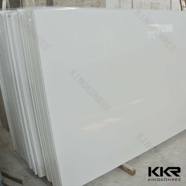 Factory Prefab 600X600mm Pure White Quartz Floor Tile