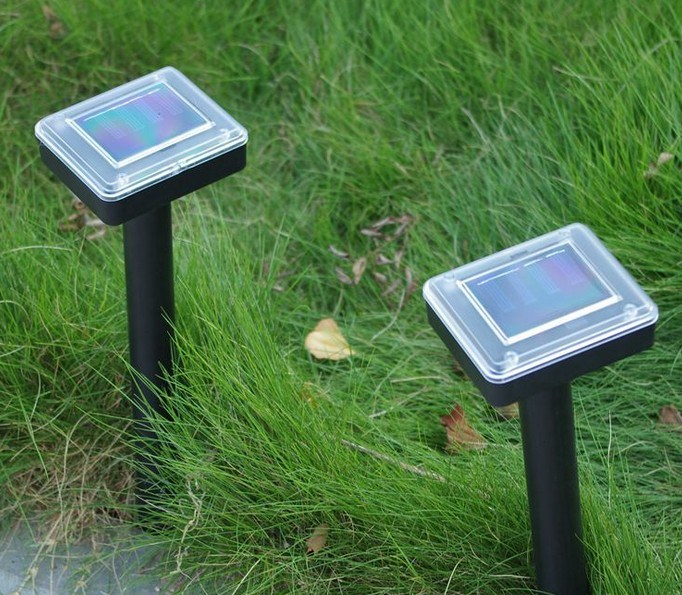 New Solar Driven Mouse Model of Outdoor Garden Dedicated Products