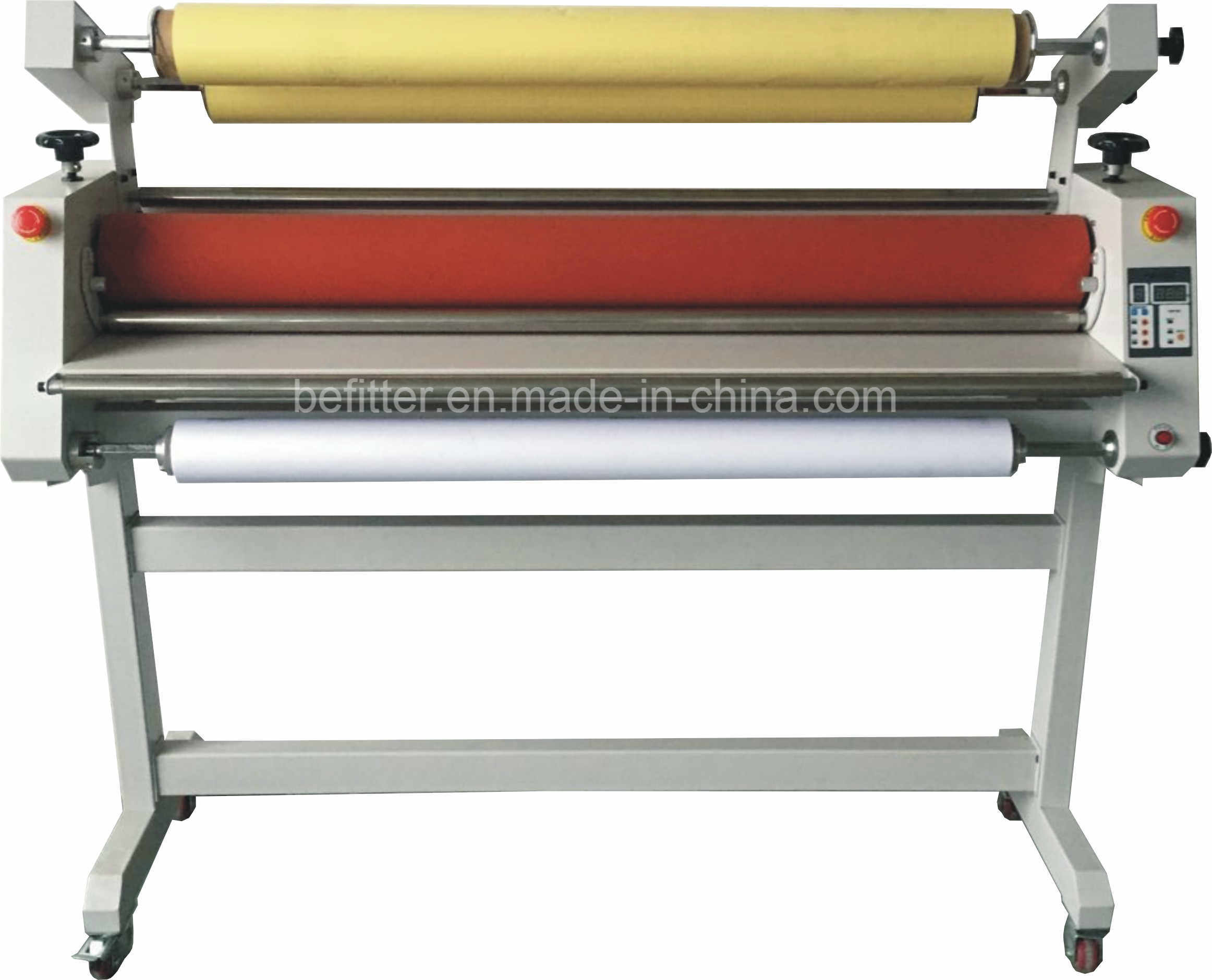 BFT-1300LHII China 1.3m 51′ Automatic Cold Laminator with Low-Heat Assist