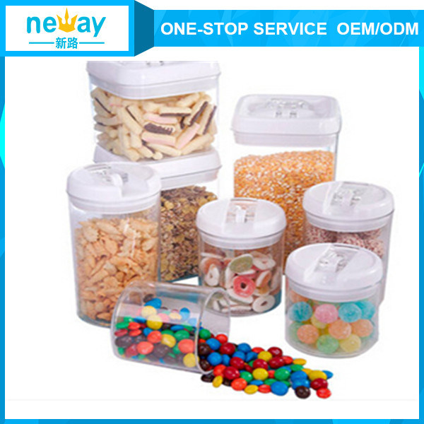 Neway New Product Cheap Wholesale Plastic Storage Jar