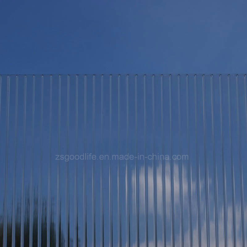Transparency Polycarbonate Twin Wall Sheet for Glazing
