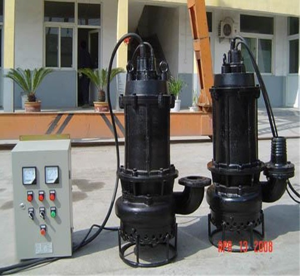 Centrifugal Submersible Lift Discharge Marine Water Sewage Pump Machine