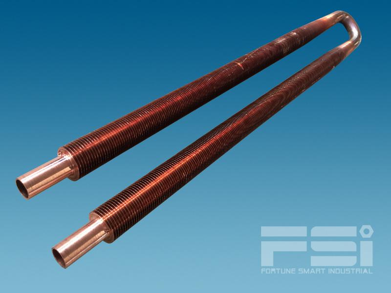 U Shape High Copper Finned Tubes