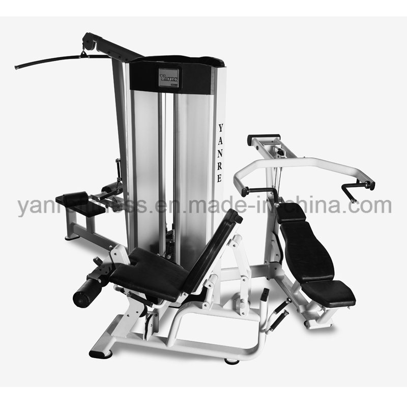 Multi- Gym 3 Station / 6 Functions Commercial Gym Fitness Equipment Multifunction Integrated Combination