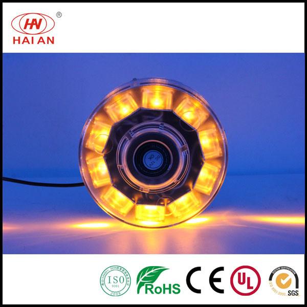 High Power LED Beacon Light/Amber LED Rotating Beacon Light/Magnet Cigarette Flashing Beacon Light Warning Strobe Beacon LED Vehicle Warning Light
