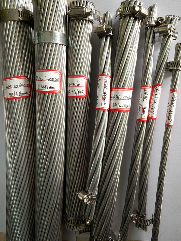 AAAC Conductor ASTM B399 Bare Aluminium Alloy 6201 with Grease