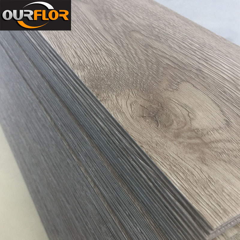 Wood Grain PVC Vinyl Flooring Tiles/ PVC Dy Back/ PVC Glue Down (2mm, 2.5mm, 3mm)