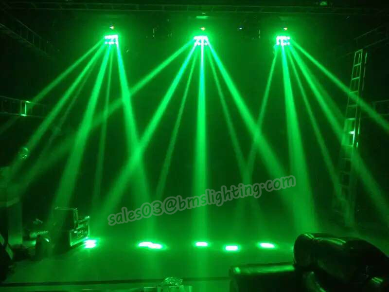 8 PCS RGBW LED Infinite Spider Moving Head Light
