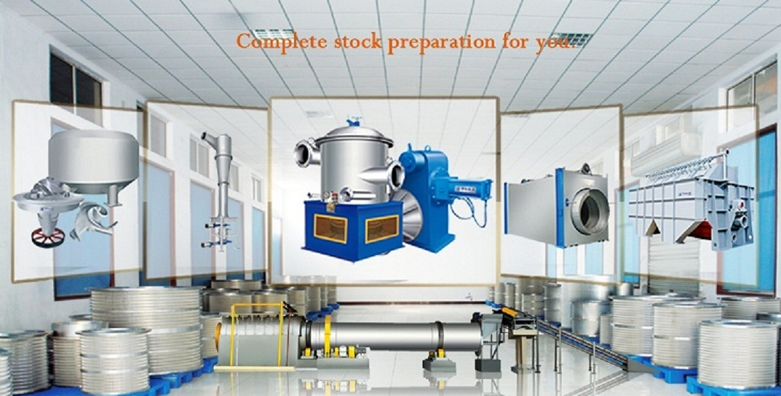 Waste Paper Repulping Recycle Paper Stock Preparation Line