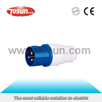 Nylon PP PC Industrial Plug Socket