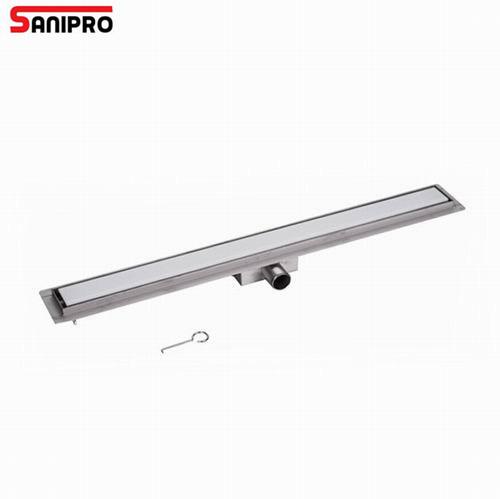 Rectangle Stainless Steel Linear Drain Bathroom Shower Long Floor Drain