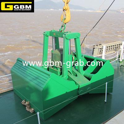 Gbm Hydraulic Grab Vessel Motor Hydraulic Clamshell Grab Bucket