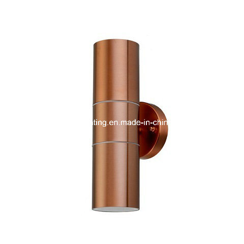 Double Light Stainless Steel Outdoor Light with Ce Certificate (LH144-COPPER)