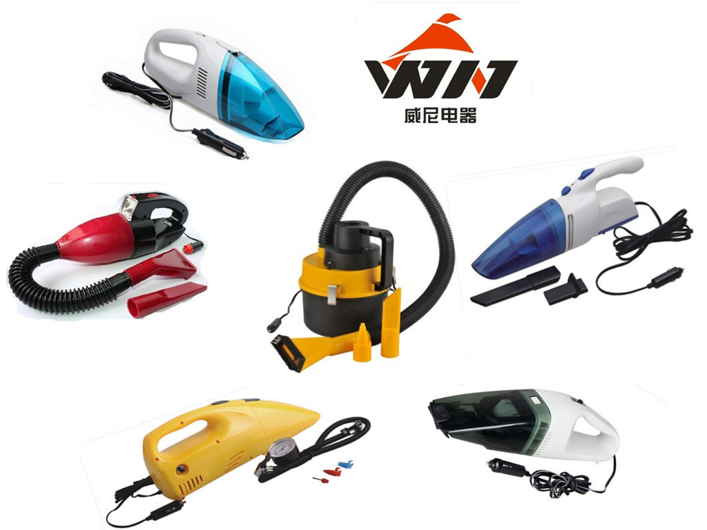 12V Mini Portable Car Vehicle Auto Wet Dry Handheld Vacuum Cleaner (WIN-601)