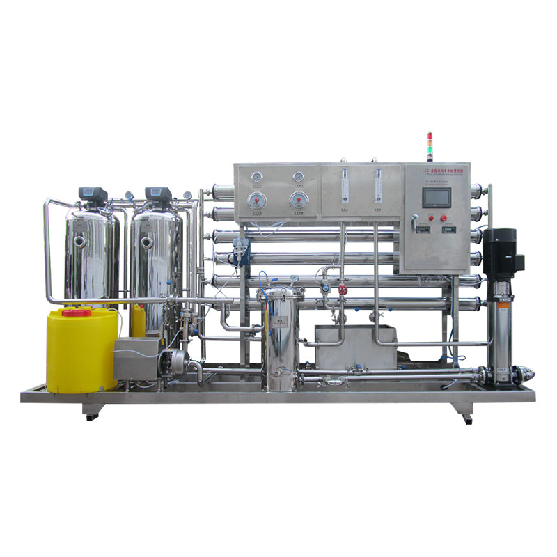 Full Automatic 2000L/H Drinking Water Reverse Osmosis Treatment Machine