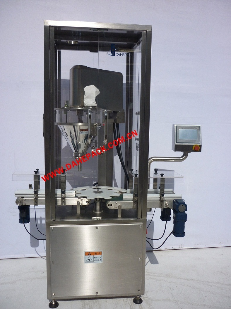 Automatic Rotary Canned Dry Powder Filling Machine