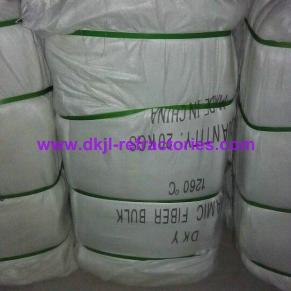 Thermal Insulation Ceramic Blowing and Spun Fiber Bulk