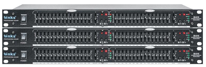 EQ215 PRO Audio Equipment Speaker Processor Graphic Equalizer