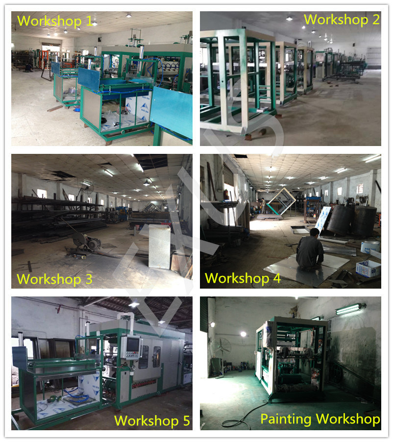 Automatic High Speed Plastic Vacuum Sealing Machine