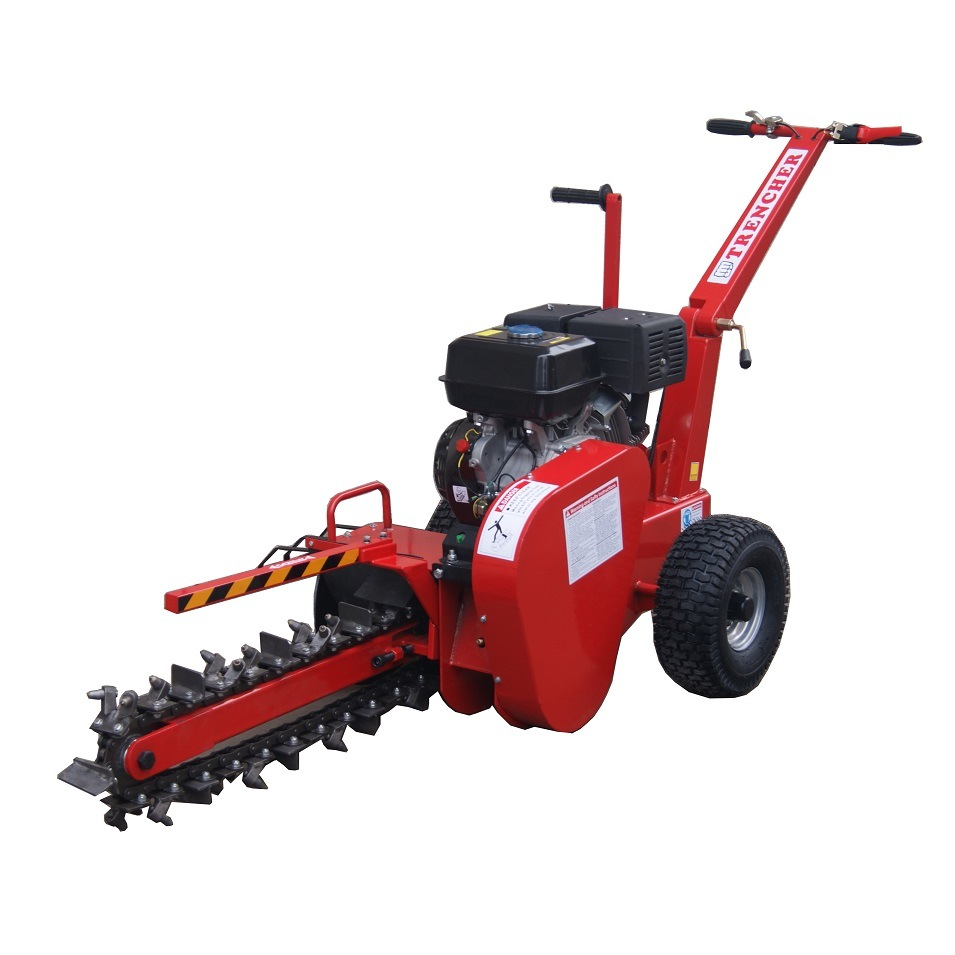 China Wholesale 7HP, Max 450mm Trench Depth Trencher, Walk Behind Trencher (T001)