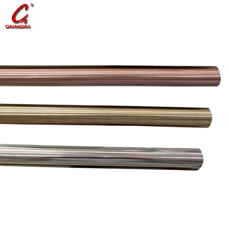 Metal Round Plain Pipe Curtain Pole (CH0103AB)